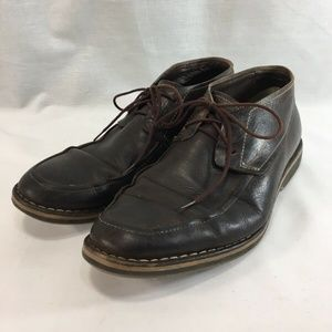 Cole Haan Shoes Chukka Oxfords Brown Leather